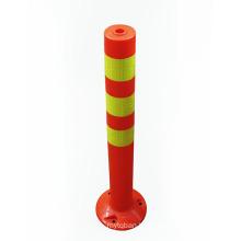 Temporary Road Barriers Road Warning Post, Lane Separator Divider Road Traffic Warning Post/