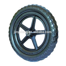 12'' EAV solid foam wheel , plastic rim .Baby carriage wheels ,baby child bike wheel