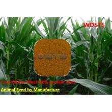 Farelo de glúten de milho ração animal com 60% de proteína
