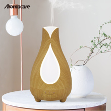 2018 Inventions Top 100 Amazon Wood Diffuser Humidificateur Misting Machine 150ml Aroma Diffuser Salt Lamp Vase Humidifier