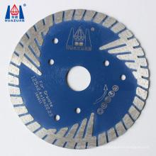 "4"" 5"" 6"" 7"" 8'' Hot Pressed Sintered Bevel Turbo Diamond Saw Blades for Cutting Brick Pavers Granite Sandstone Concrete"