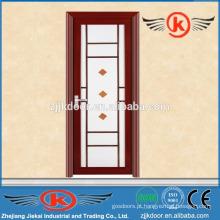 JK-AW9002 porta de vidro em alumínio fosco interior