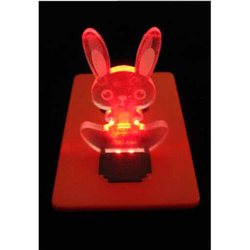 Party supplies Cheap led card light wholesale Party gifts