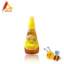 Miel pura de abeja castas en tarros de miel