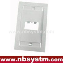 Arc Face Plate 2 port, taille: 70x115mm