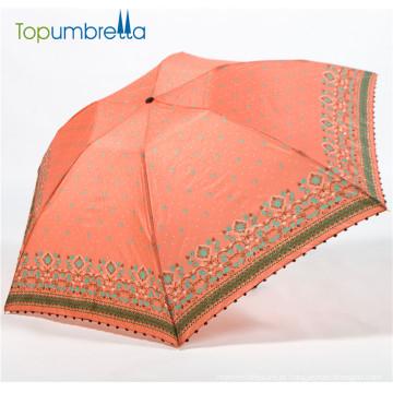 O costume de 36pcs 6ribs todo o guarda-chuva de formosa da fibra do carbono