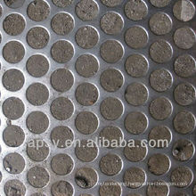 Perforated sheet metal mesh(factory)
