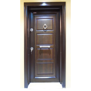 Simple Dseign Steel Security Armored Door