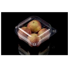PET plastic transparent 4pack fig boxes