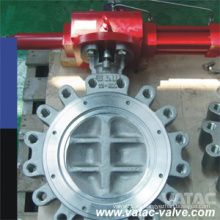 API 509 Neumática y Gas Wafer & Lug & Semi-Lug Acero Inoxidable CF8 / Ss304 Válvula de Mariposa