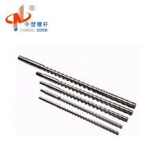 Bimetallic Screw and Barrel for any type Extruder with Customized Drawing