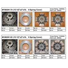 """American Mack Truck Parts 15 1/2 """"Ferro fundido kits de embreagem M108391-74"""