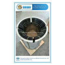 Bouclier de chaleur de molybdène de vente directe d'usine pour la zone chaude de four croissant de saphir