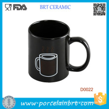 Water Vapor Heat Sensitive Tea Ceramic Cup