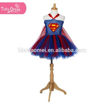 Superm Cosplay Halloween Kostüm für Kinder Tüll Tutu Kleid Mädchen Weihnachtsfeier Geburtstag Leistung Kleider Mädchen Prinzessin Kleid