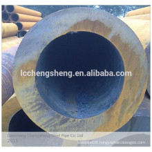 ASTM JIS DIN large diameter iron pipe seamless steel pipe size