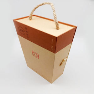 Custom Brown Kraft Paper Tea Gift Box