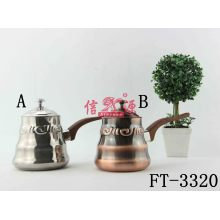 Stainless Steel Copper Plating Milk Pot (FT-3320)