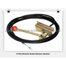 Sistema de liberación de Romote freno para Motor elevador