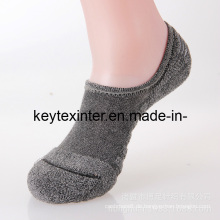 Herren Cotton Invisible Knöchel Sport Socken mit Terry Sole (MA700)