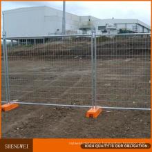 Hot Galvanized Outdoor Australia Temporary Metal Fence Panels