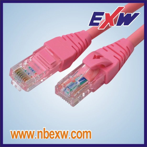 Cat6 Pink Cable