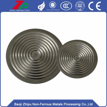 Flat Diaphragm for Pressure Sensors