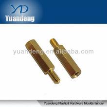 Latão hex macho fêmea standoffs / cilindros de cobre / M3 hexadecimal alumínio standoffs