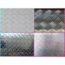 Five Bar, Two Bar, Placa de control de aluminio con patrón de diamante de China