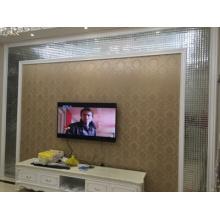 2017 El nuevo estilo del gabinete de TV adorna el azulejo de cristal del espejo