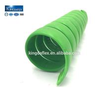 Большого диаметра провода используется PE Спиральн предохранитель/резиновый шланг протектор