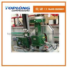 Compresor del diafragma Compresor del oxígeno Compresor del nitrógeno del impulsor Compresor del helio Compresor de alta presión del impulsor (Gv-10 / 4-150 Aprobación del CE)