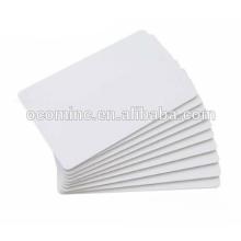 Blank RFID card LF 125K HF 13.56MHZ 14443A 15693 UHF Blank White PVC Card