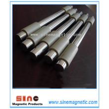 NdFeB barra magnética barra magnética fuerza fuerza magnética marco barra de acero inoxidable