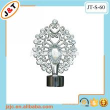 Duschvorhangstange mit Diamantvorhang Finial