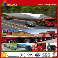 Heavy Duty Wind Power Flatbed Trailer Truck