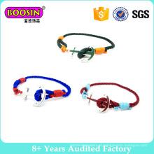 Moda Jóias Axe Buckle String Bracelet para Jovens