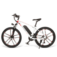 Luvgogo MTB Electric Bike Removable Lithium Battery Bicycle Full Suspension 500w Motor Electric Bicycle