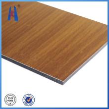 De Buena Calidad Panel de aluminio compuesto de madera para la venta