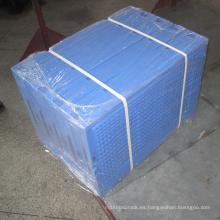 Contenedor plegable de alta densidad del envase / del transporte de plástico para el supermercado