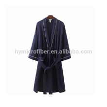 Velvet modern hotel terry towel bath robe