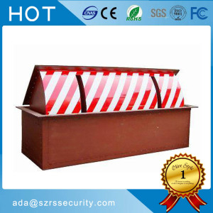 Popular design folding arm traffic barrier/road blocker