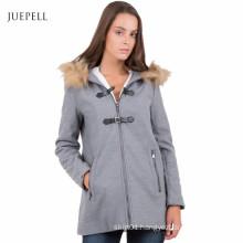 Duffle Faux Fur Outdoor Winter Women Coat