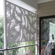Panel Balkon Art Laser Cut Metal