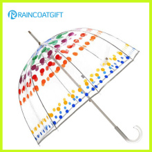 Fashion Transparent Poe Dome Umbrella