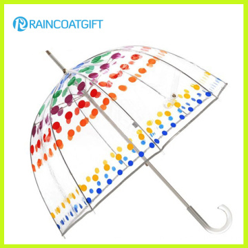 Fashion Transparent Poe Dome Umbrella