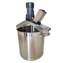 Small and convenient commercial food mixer kitchen dip mixing equipment frying machine