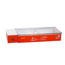 234L Раздвижные стеклянные двери Обои Морепродукты Морозильник