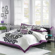 Mi Zone Florentine Mini Duvet Обложка для печати Комплект пододеяльников Purple