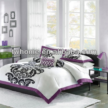 Mi Zone Florentine Mini Duvet Cover print Duvet Cover Set Purple